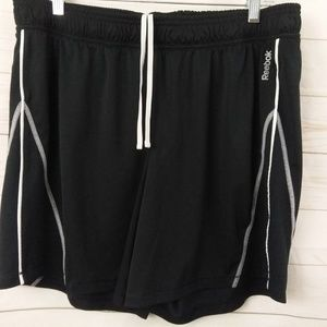 Reebok Black Athletic Shorts XL Speedwick